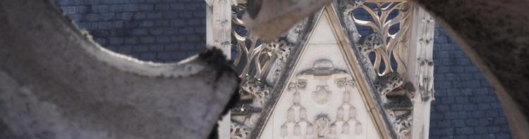 Détail de la façade de l'hôtel de Cluny